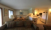 Sylvia's Slopeside Condo, Seasonal Jay Peak Condo for rent