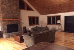 Sargent's Way, Ski Chalet, Jay Peak, 4 bedroom, 5 full beds.  A few miles from Jay Peak Resort!
